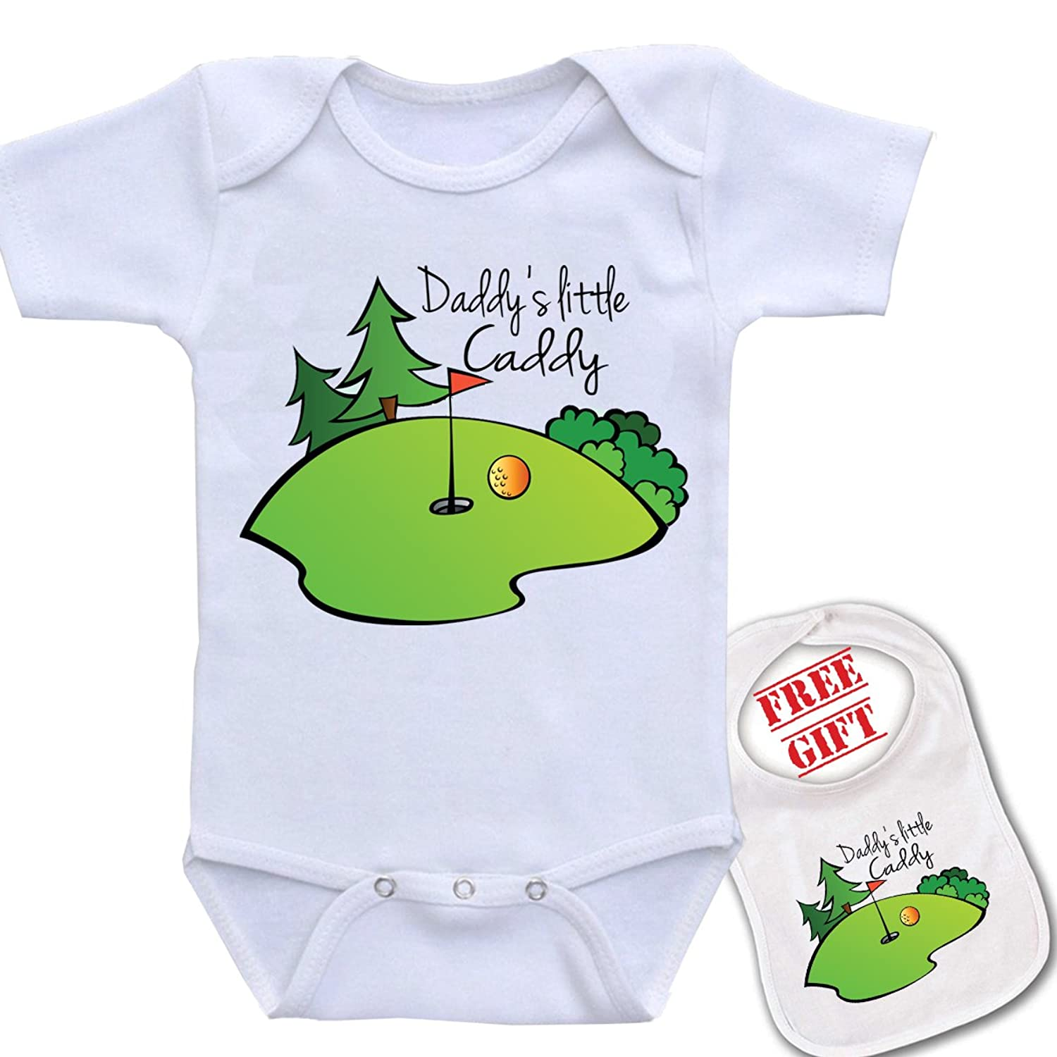 Amazon Com Daddy S Little Caddy Golf Cute Boutique Baby