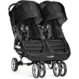 Baby Jogger City Mini Double Stroller, Black/Gray (Discontinued by Manufacturer)