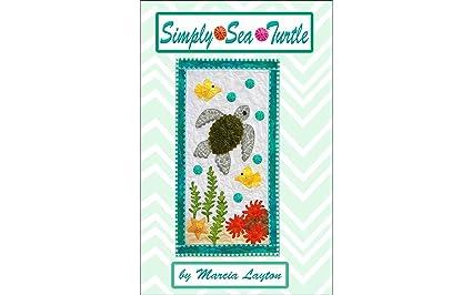 amazon com marcia layton designs ss5 simply sea turtle pattern