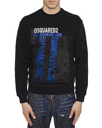 DSQUARED2 - Men s Sweatshirt S74GU0218 - Black c70c49973