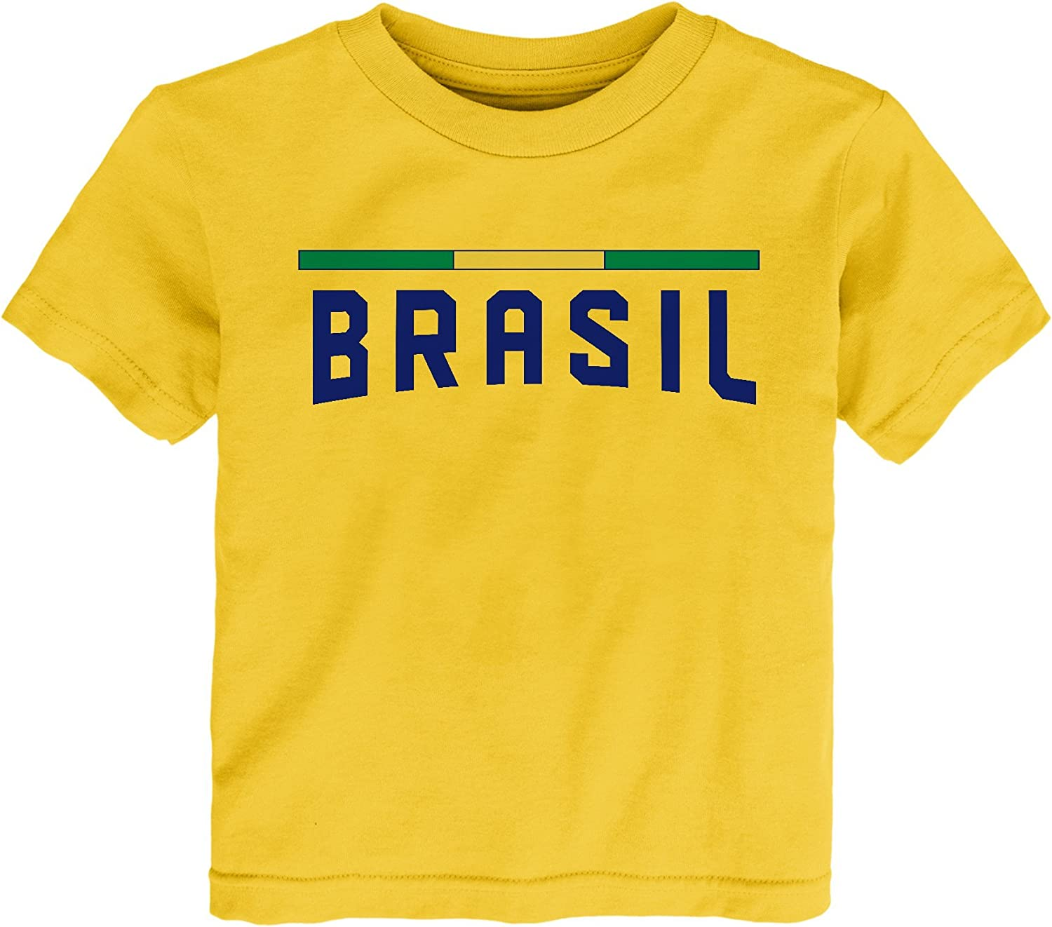 World Cup Soccer Toddlers Color Bar Tee