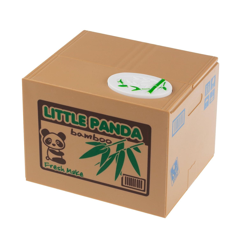 Amazon.com: LEMONBEST Powstro Cute Itazura Stealing Coin Bank Cents ...