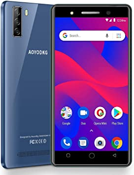 Moviles Libres 4G Android 9.0 Pie, A10+(2020) 16GB ROM/128GB Smartphone Libre 5.0 HD 3400mAh Quad-Core | Face ID ...