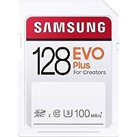Samsung EVO Plus 128GB SDXC UHS-I U3 100MB/s Full HD & 4K UHD geheugenkaart (MB-SC128H/EU)