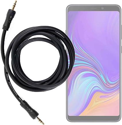 DURAGADGET Cable De Audio para Smartphone Samsung Galaxy A9 (2018 ...