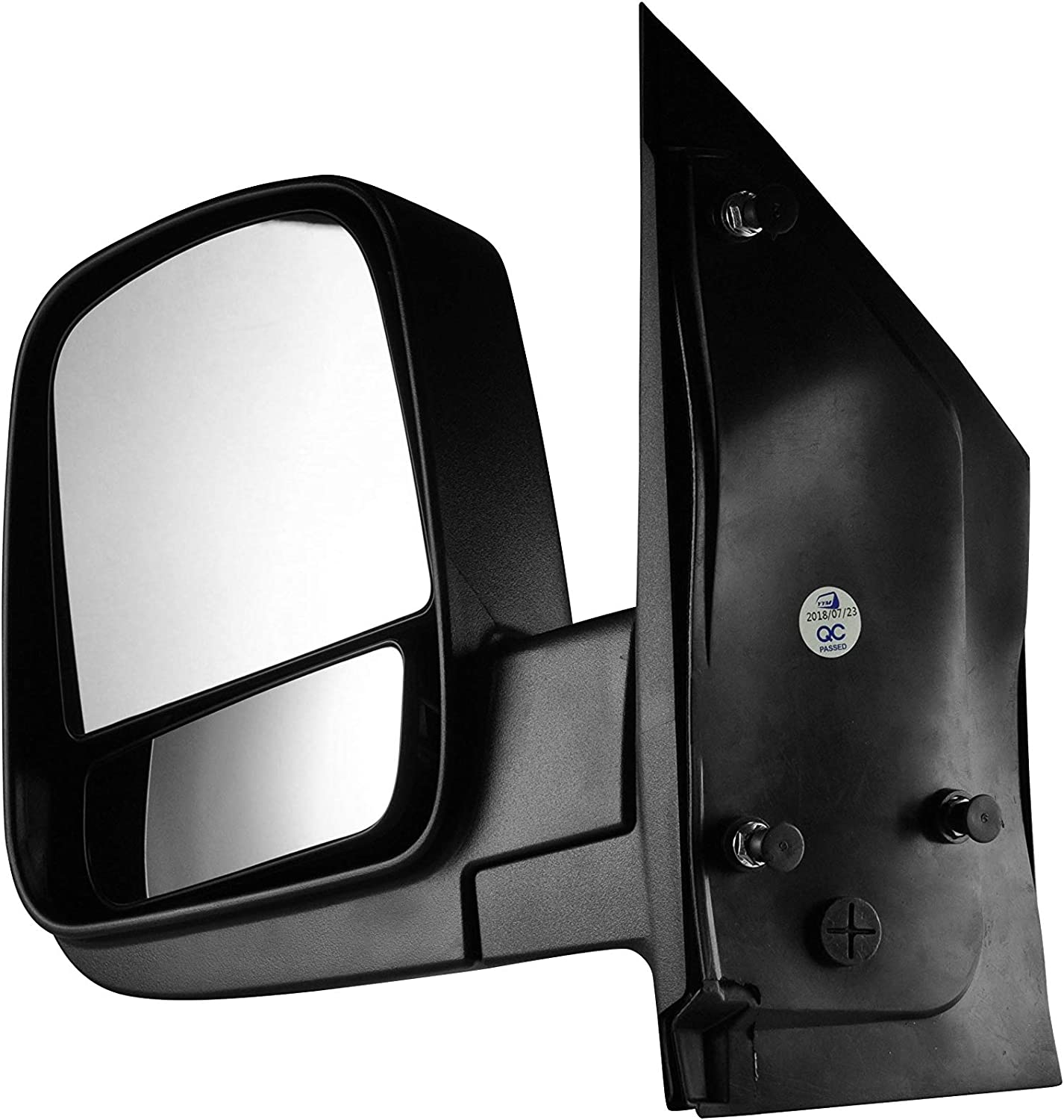 08-17 Chevy Express 2500 3500 Passenger Side Textured Side View Mirror for 08-14 Chevy Express /& GMC Savana 1500 GMC Savana 2500 3500 Dependable Direct