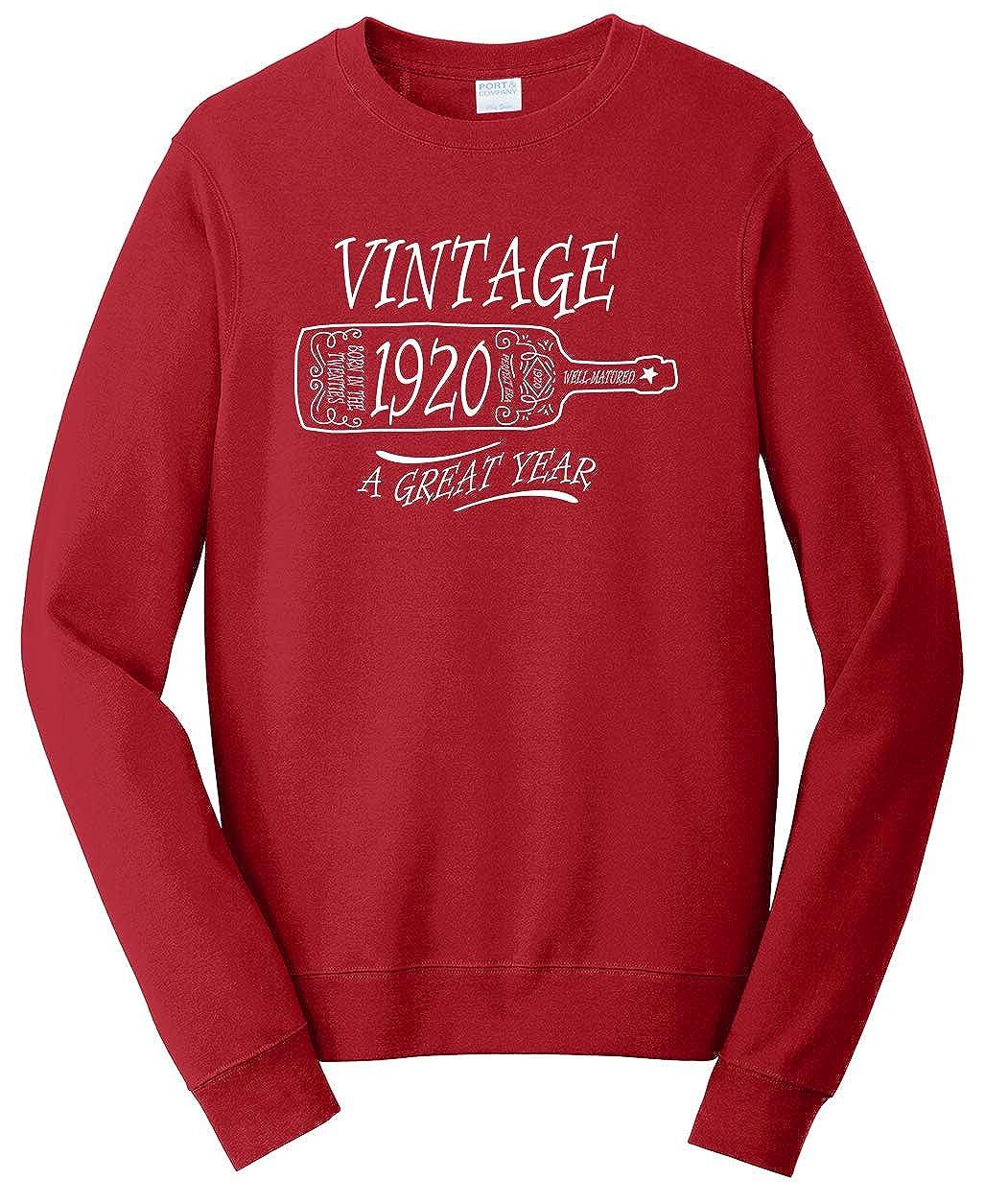 Tenacitee Unisex Aged Like a Fine Wine 1920 Sweatshirt