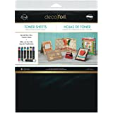 iCraft 3377 Deco Foil Toner Sheets, 8.5 Inches x 11 Inches, Black