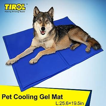 KKmoon - Alfombrilla/cama refrescante para animales domésticos - Cama fresca estiva para perros y gatos - Dimensiones: 90 x 50 cm M(26: Amazon.es: Coche y ...