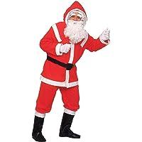 WIDMANN 1535D - Natale Vestito Babbo Natale Lusso, Taglia Unica