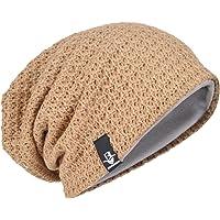 Men Oversize Beanie Slouch Skull Knit Large Baggy Cap Ski Hat B08