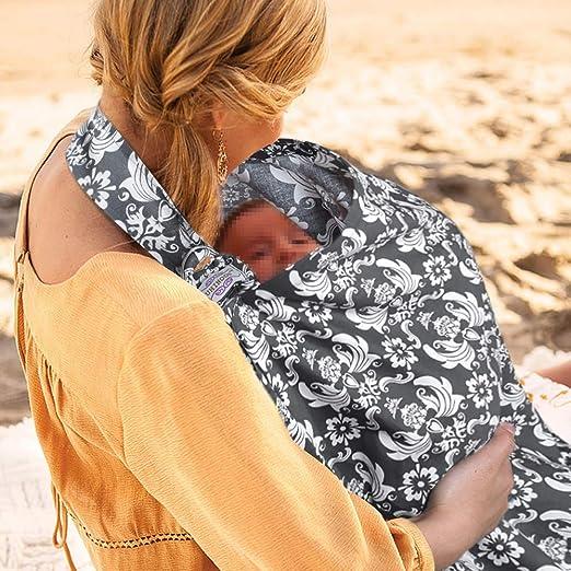 Artibetter Breastfeeding Nursing Cover Cotton Privacy Feeding Cover Nursing Apron for Breastfeeding Car