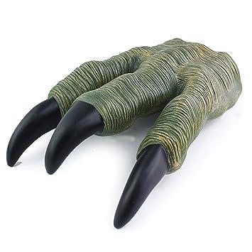 THEE 1 Par de Garra de Dinosaurio de Juguete Accesorios de Disfraz de Halloween Guantes de Dinosaurio: Amazon.es: Juguetes y juegos