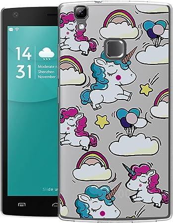 Funda Doogee X5 Max/ X5 Max Pro Rainbow Unicorn Mariposas Suave TPU Silicona Anti-rasguños Protector Trasero Carcasa Para Doogee X5 Max/ X5 Max Pro: Amazon.es: Electrónica