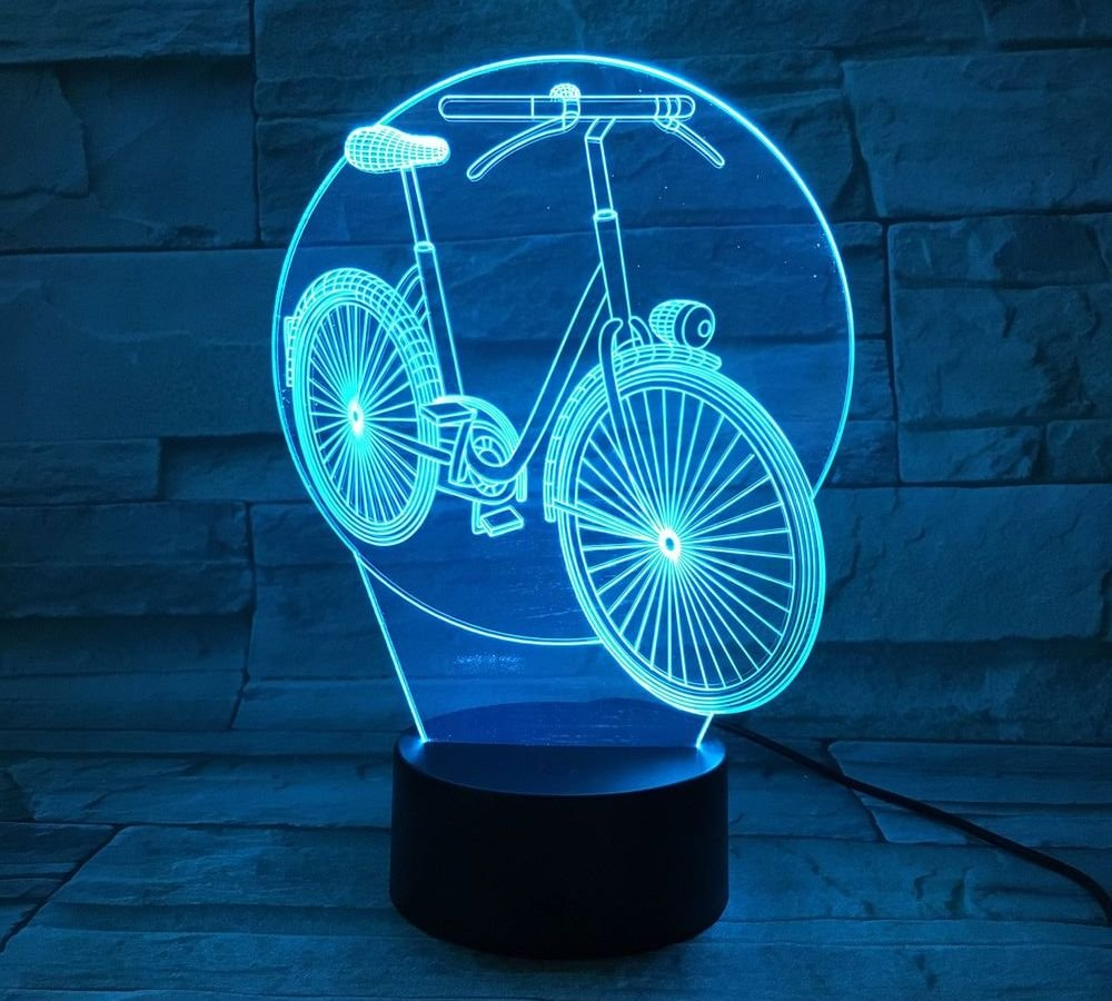3D ナイトライト B0719KT1V1 10609 自転車 自転車