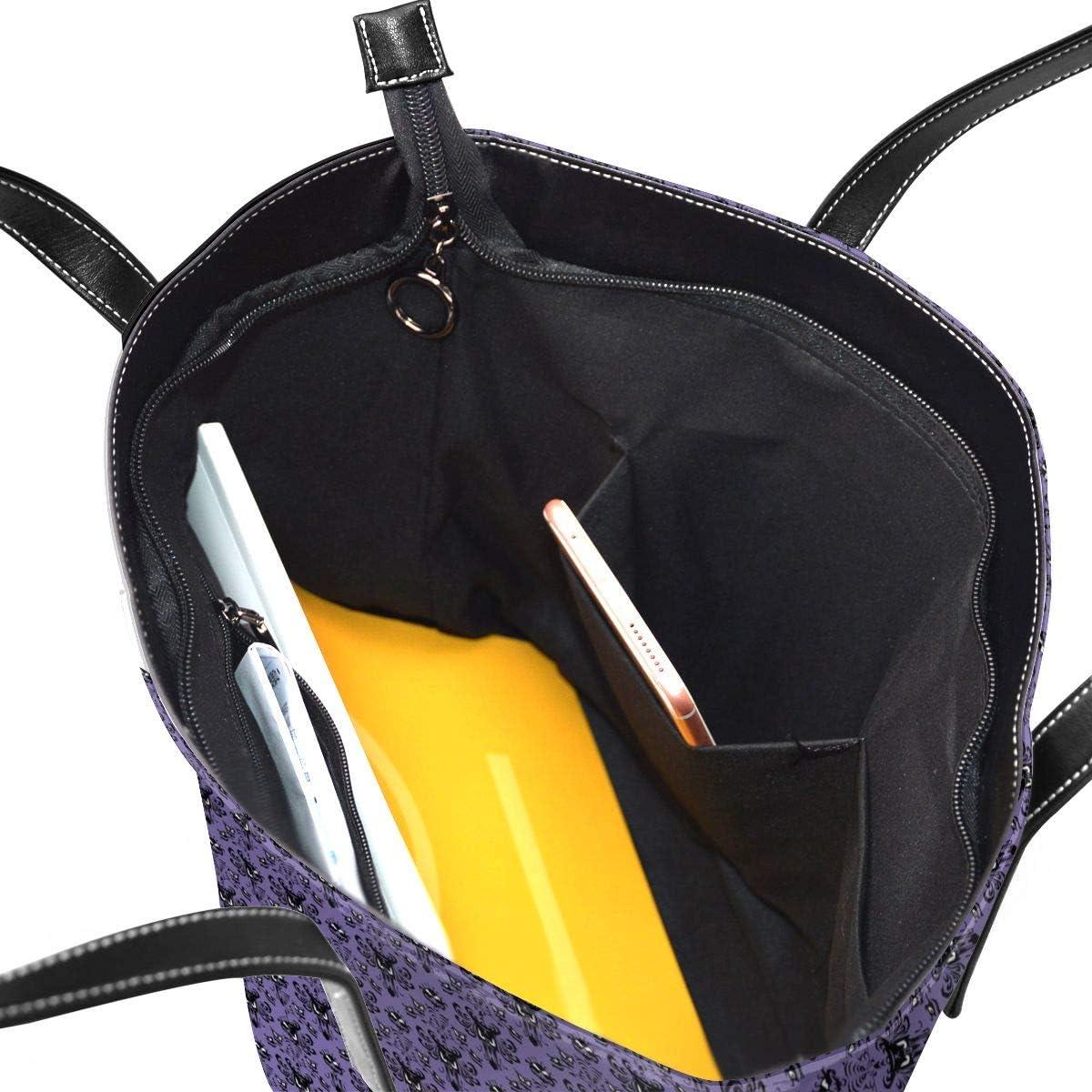 M009USFA Haunted Mansion Tote Handbag Daily Bag Beach Tote Shopper School Gym Travel Bag