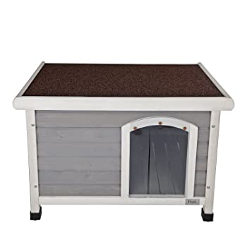 Petsfit Wooden Dog House Outdoor