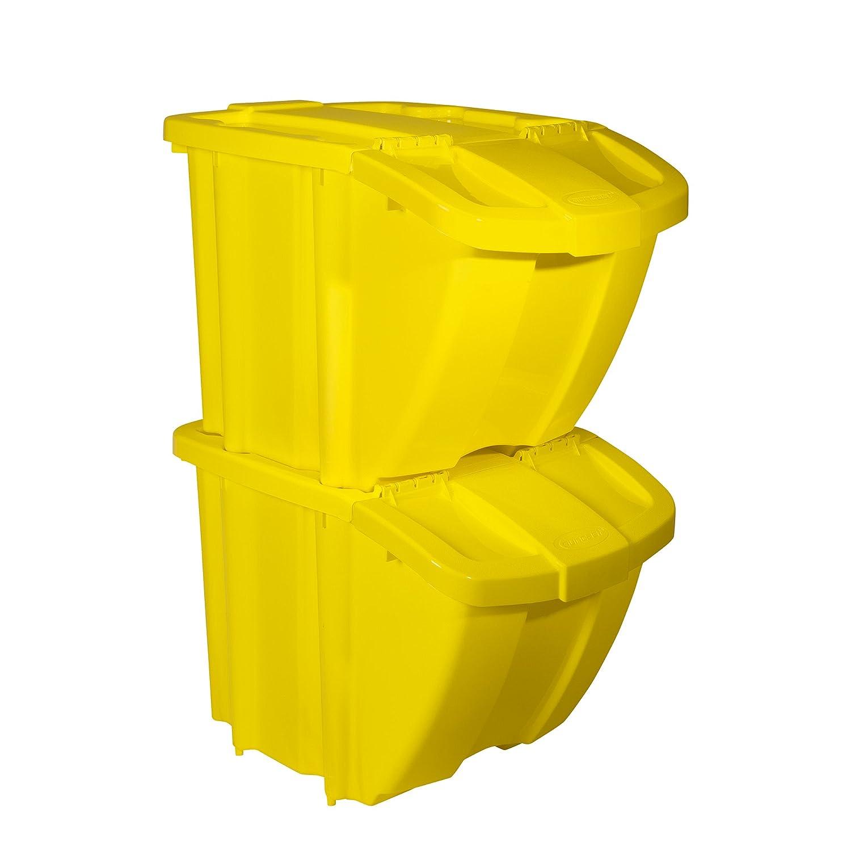 Suncast Recycle Bin Kit BH18YEL2