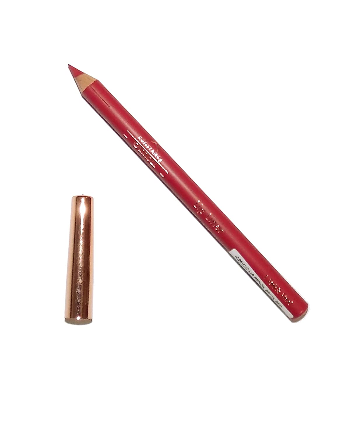 Constance Carroll CCUK Lip Liner Pencil ~ 1 Brick Red ~ Bright Red
