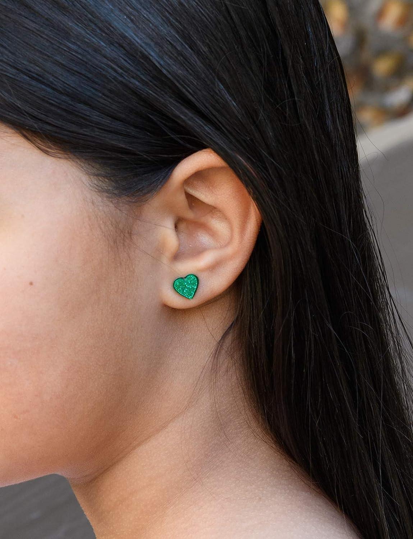BlueGreen custom 1 Inch Earrings