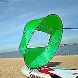 VGEBY Downwind Paddle,Kayak Wind Sail Paddle 42 pollici Kayak Canoa Accessori Compatto e Portatile ( Colore : Verde )