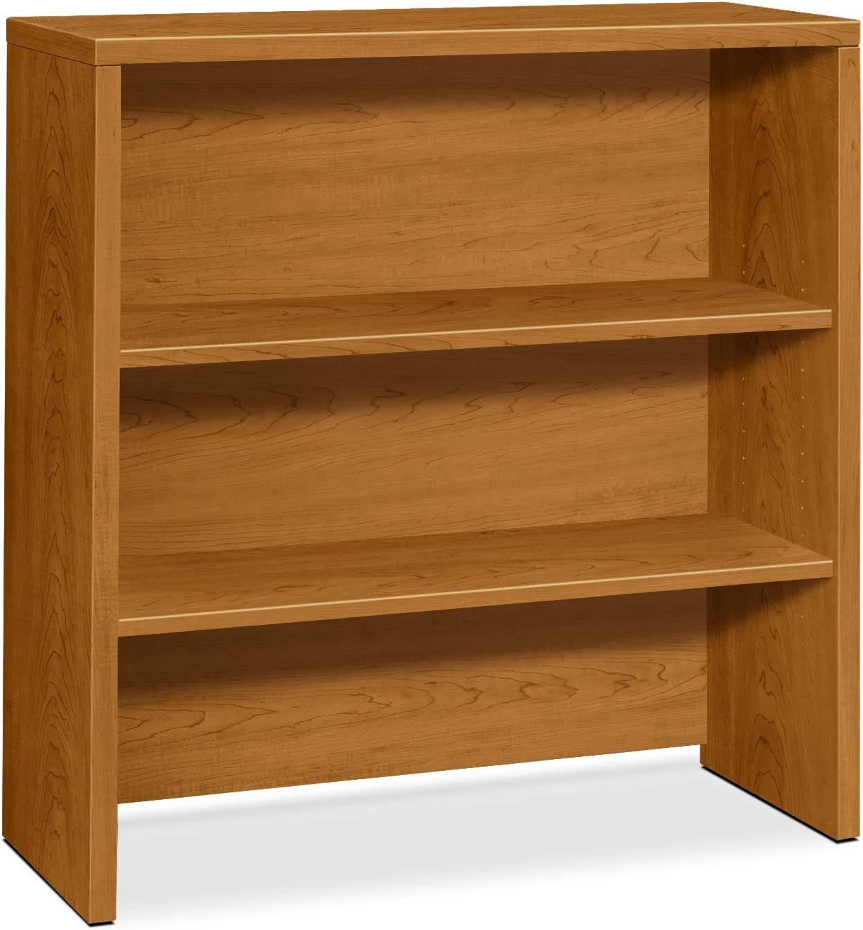 HON 10500 Series Bookcase Hutch, 36 W by 14-5 8 D by 37-1 8 H, Mahogany