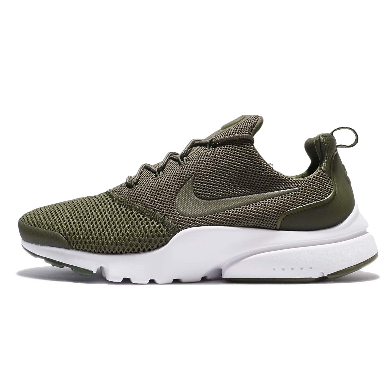 Compre Popular Nike Hombre Presto Fly Running Sneaker Zapatos Medium Olive/Medium Olive 615FZ
