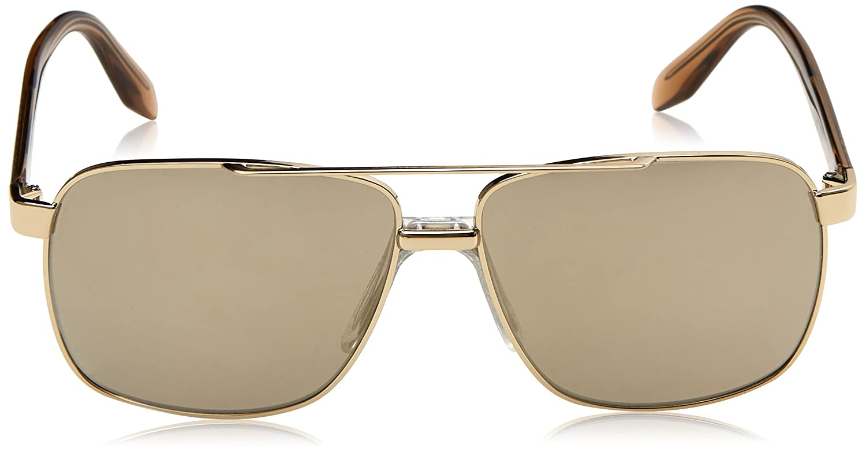 Versace Herren Sonnenbrille 0VE2174 12525A, Gold (Pale Gold/Lightbrownmirrordarkgold), 59
