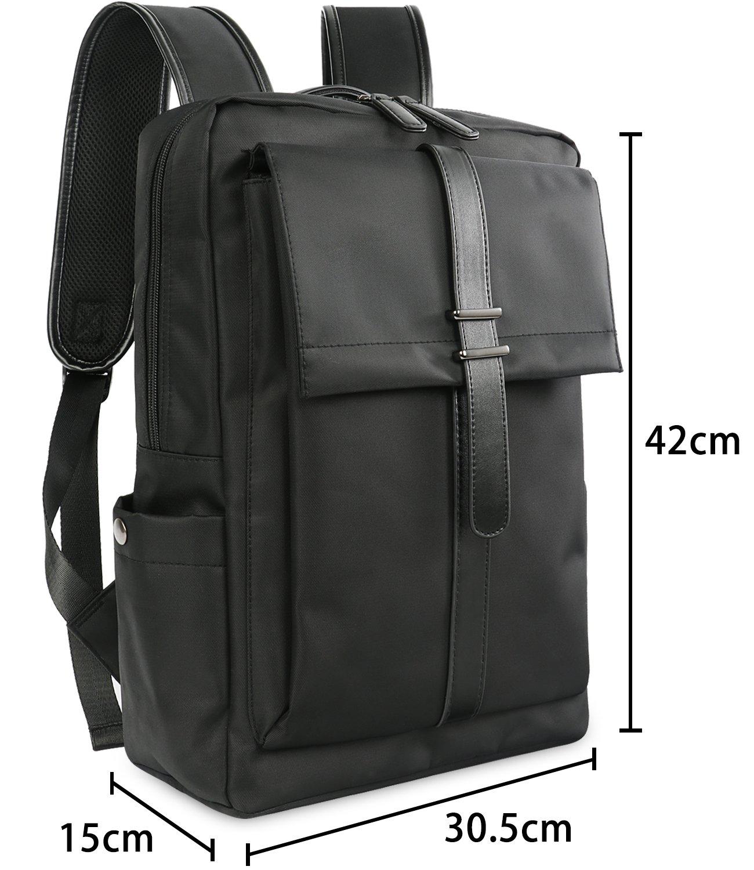Water Resistant Business Laptop Backpack Grey Oflamn Mochilas Port/átil 15.6 Pulgadas Malet/ín para Port/átiles de Negocios Resistente al Agua