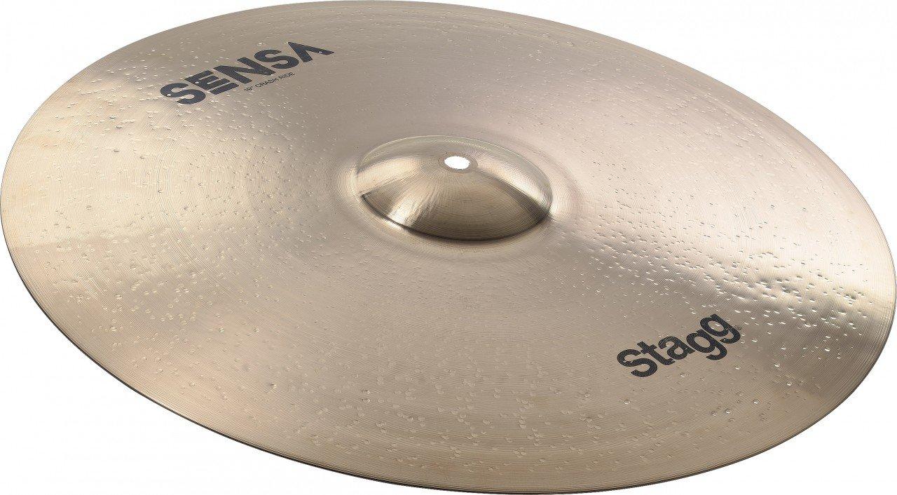 Stagg SEN-RC19B SENSA Brilliant Medium Crash Ride 19-Inch Cymbal by Stagg