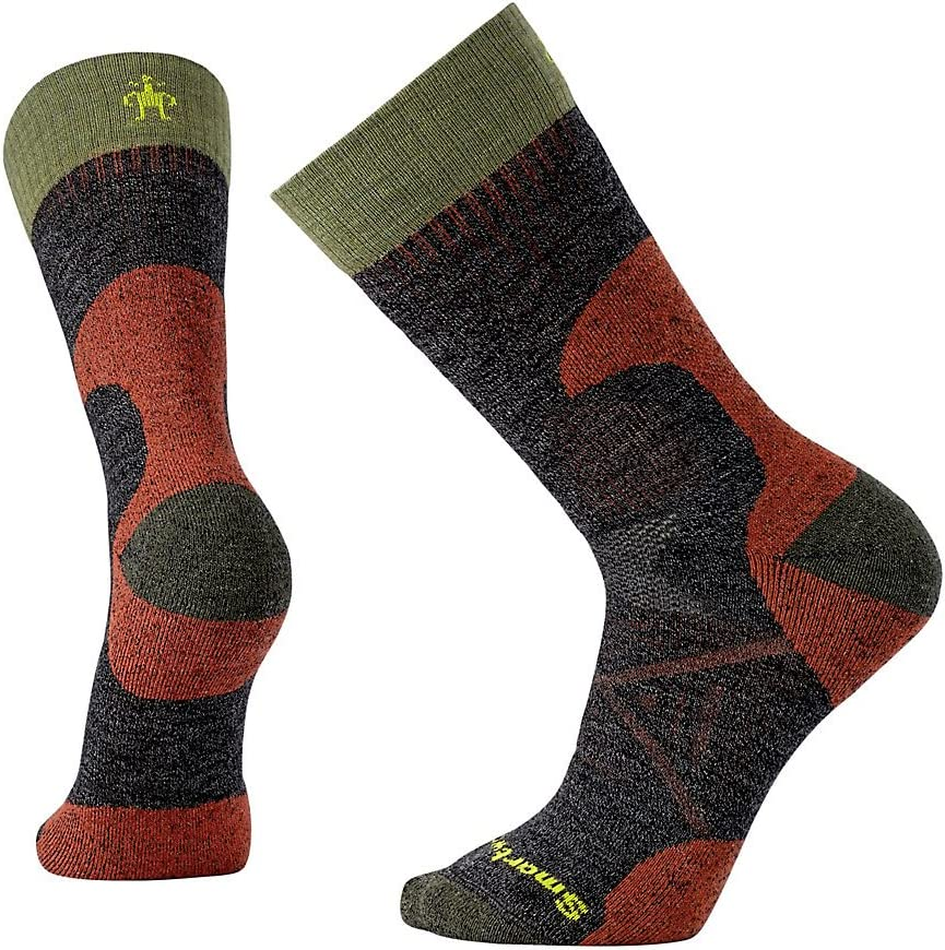 Smartwool PhD Outdoor Light Crew Socks - Men's Hunt Medium Wool Performance Sock