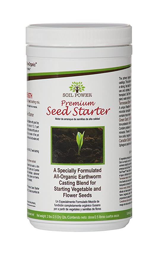 Amazon.com : Soil Power Worm Castings blended for starting seeds. Organic Fertilizer / Plant Food. 2 Lbs. Concentrated Strength. Makes 8 Lbs. Seeds sprout ...