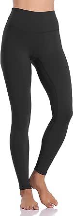 Colorfulkoala Womens High Waisted Yoga Capris 21 Inseam Leggings with Pockets
