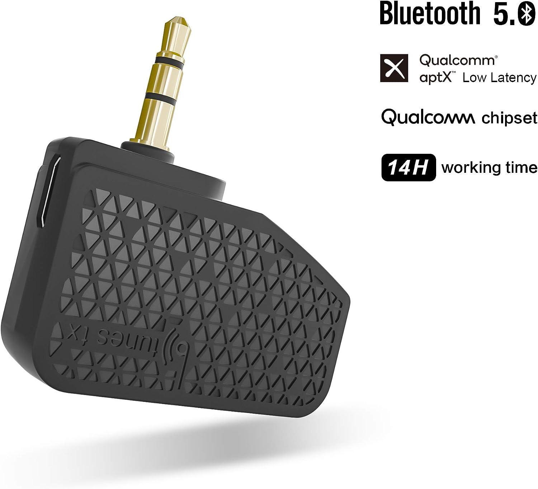 VOXOA Btunes inalámbrica Bluetooth 5.0 Adaptador para Bose
