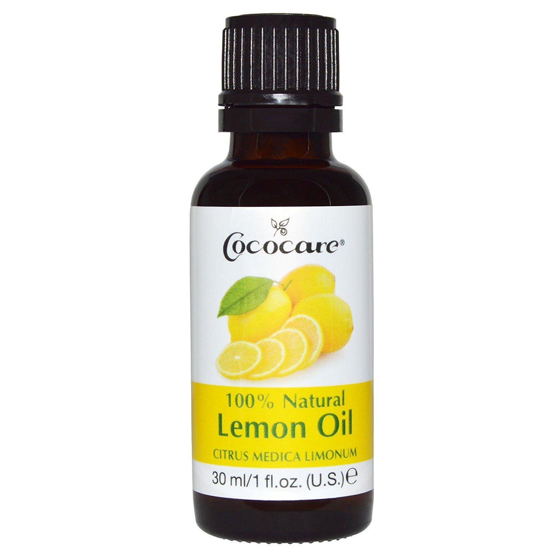 Cococare 1 Natural Lemon Oil Citrus Medica Limonum, 1 Fluid Ounce Atlas Ethnic