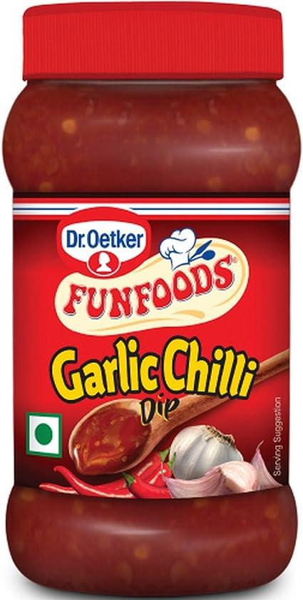 Funfoods Dr. Oetker Dip Garlic Chilli, 250g