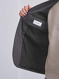 Polyester 2-button Sport Coat 1121-128-2256: Dark Grey