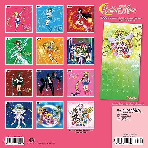 Sailor Moon Calendar 2021   Calendar 2021