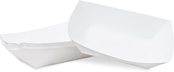 Top 10 White Paper Food Tray 50Ct
