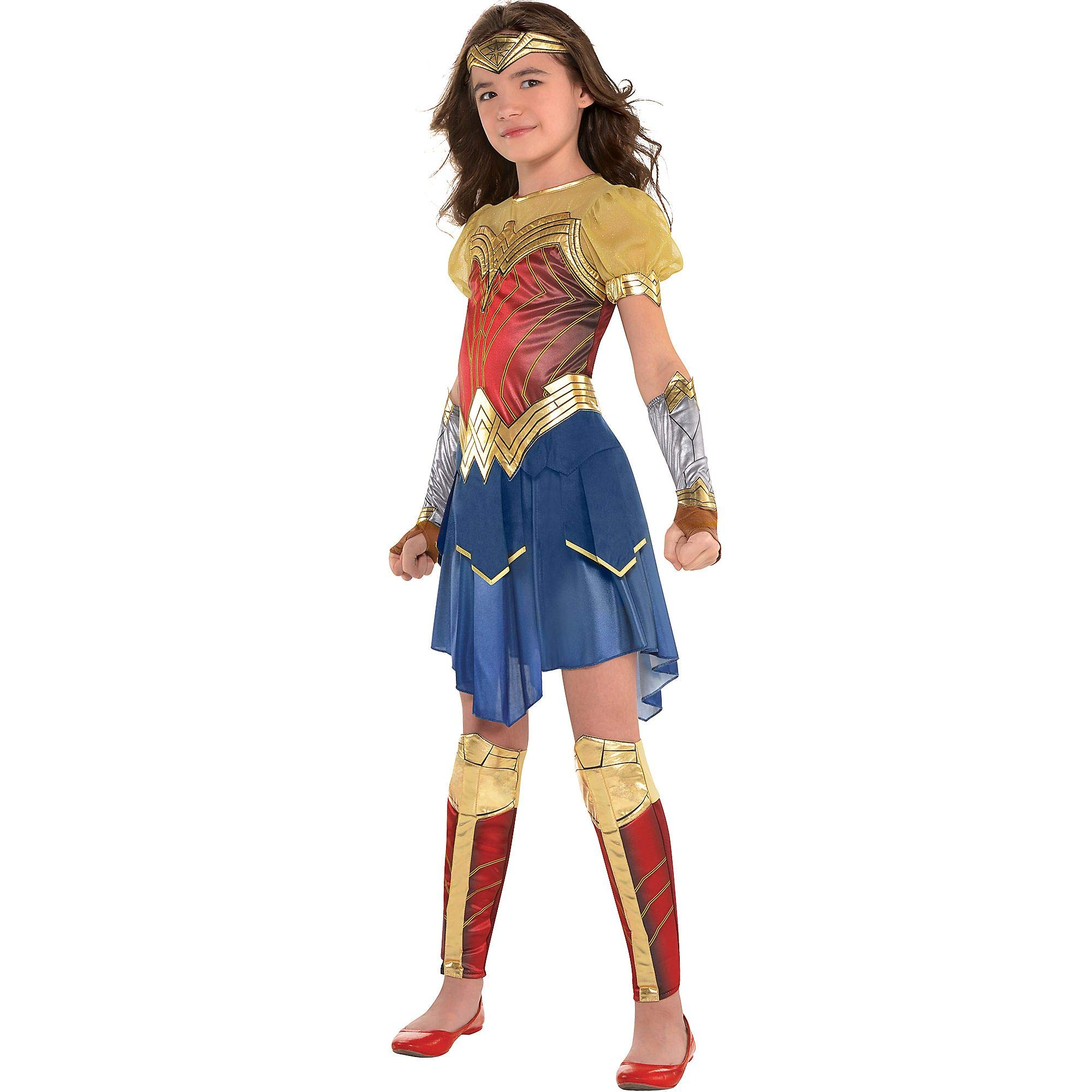 Suit Yourself Wonder Woman Movie Halloween Costume for Girls, Small, Includes Accessories