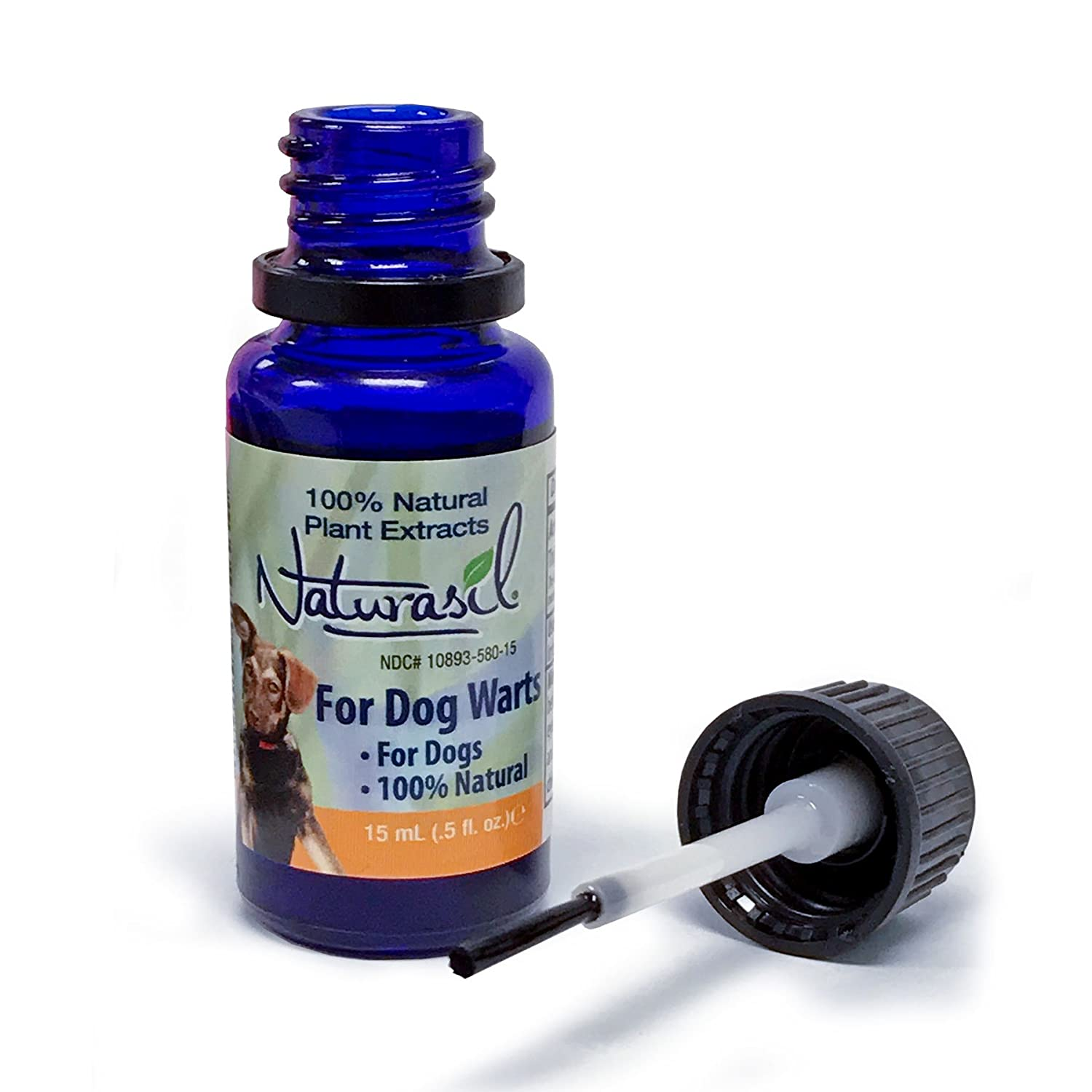 Naturasil Dog Warts Removal Treatment - 100% Natural, No Acids, Animal  Safe, Pain Free - 15mL