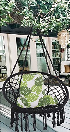 Home Garden Pod Swing Seat Hammock Rack Swing Chair Waterproof Butterfly Shape