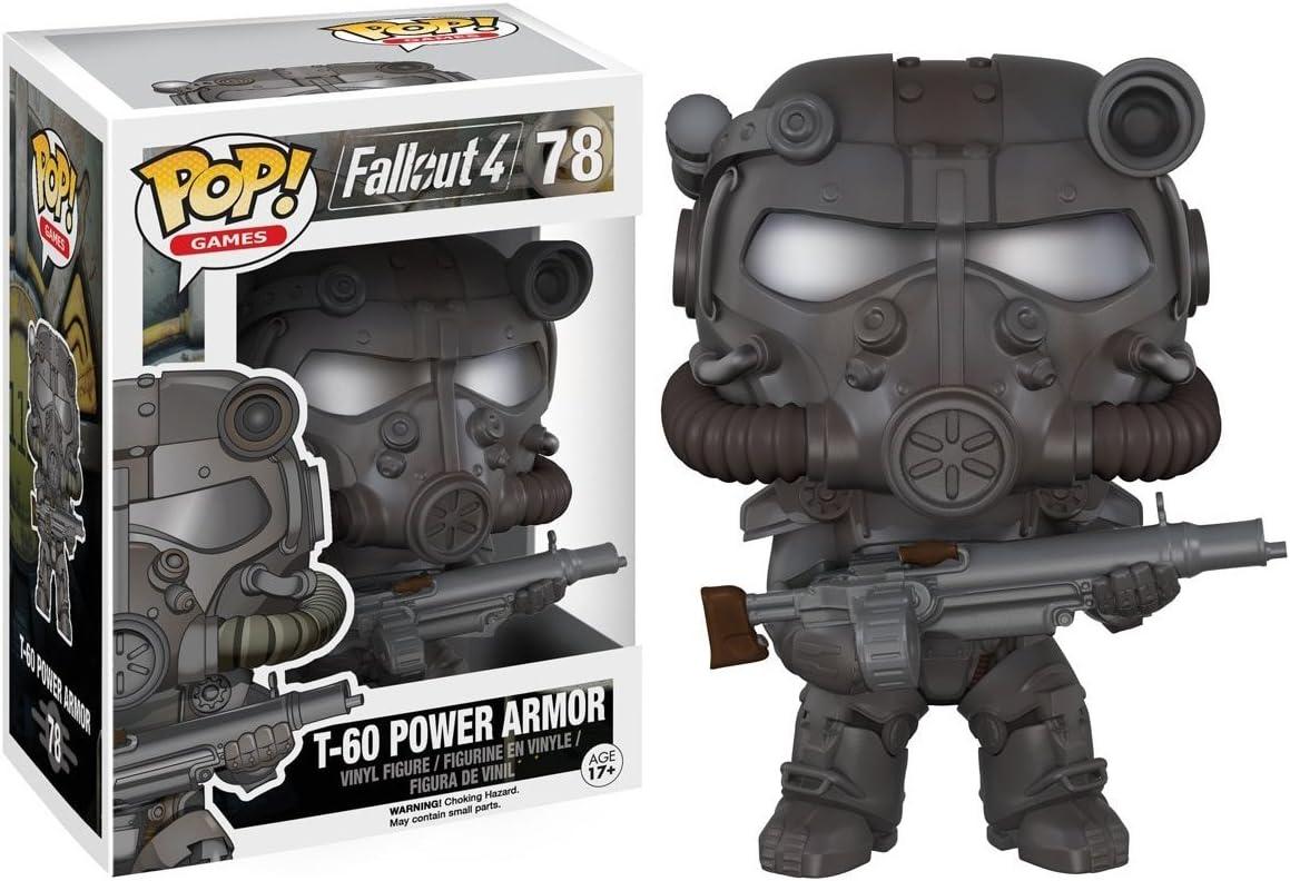 Funko Fallout 4 Pop! Games Vinyl Figure T-60 Power Armor 9 cm Mini ...