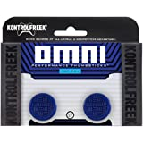 KontrolFreek Omni for PlayStation 4 (PS4) Controller   Performance Thumbsticks   2 Low-Rise Concave   Blue