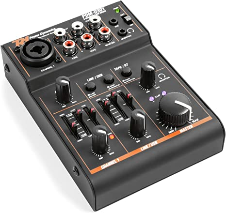 Power Dynamics PDM-D301BT mixer de 3 canales mesa de mezcla USB ...
