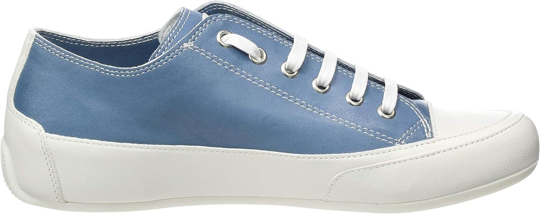 Candice Cooper Women's Low-Top Sneakers Blue Blu Tamponato