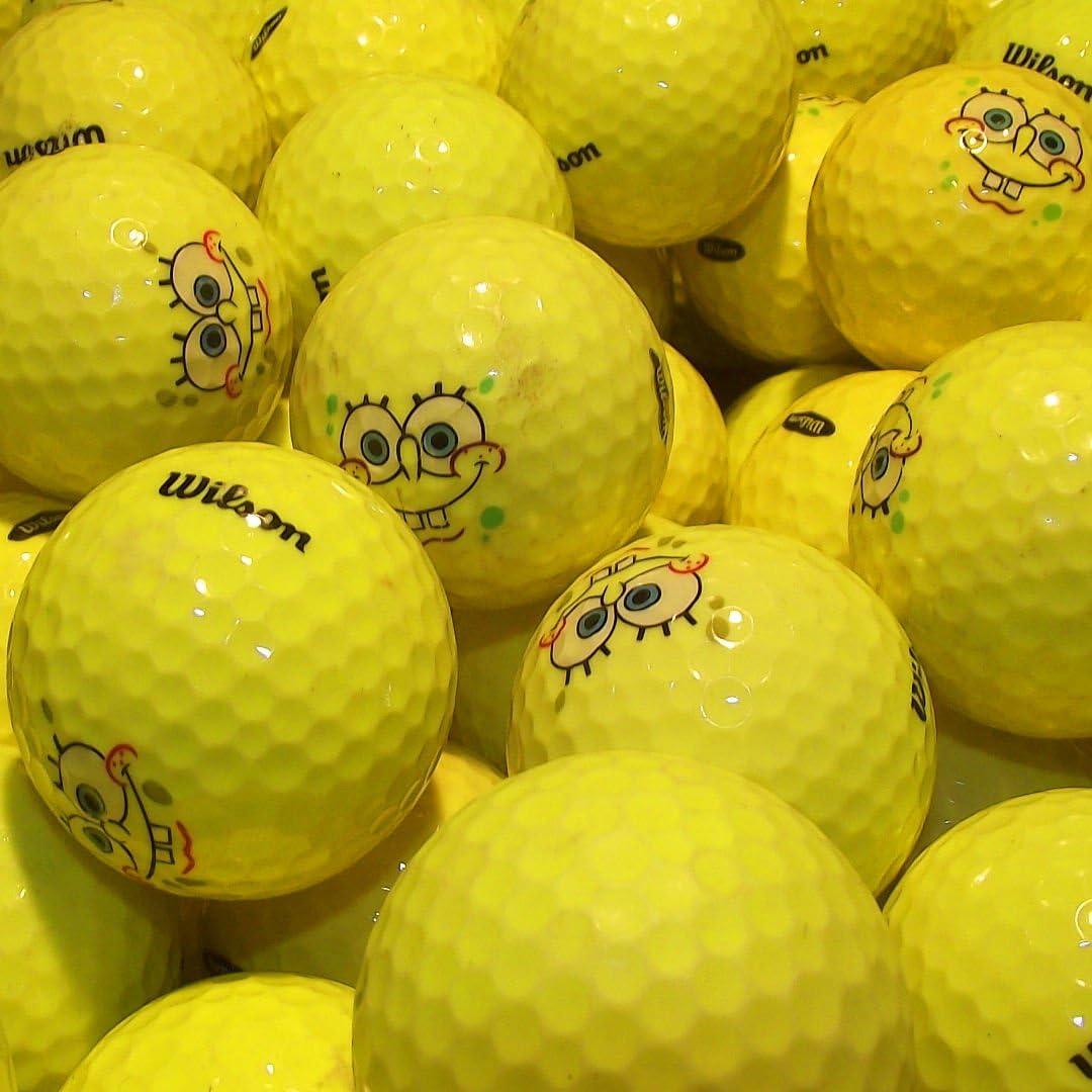 Pelota de golf Hunter – 36 amarillas usadas Wilson Pelotas de golf ...
