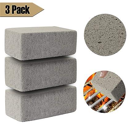 Amazon.com: Kitopens – Limpiador de parrilla de piedra ...