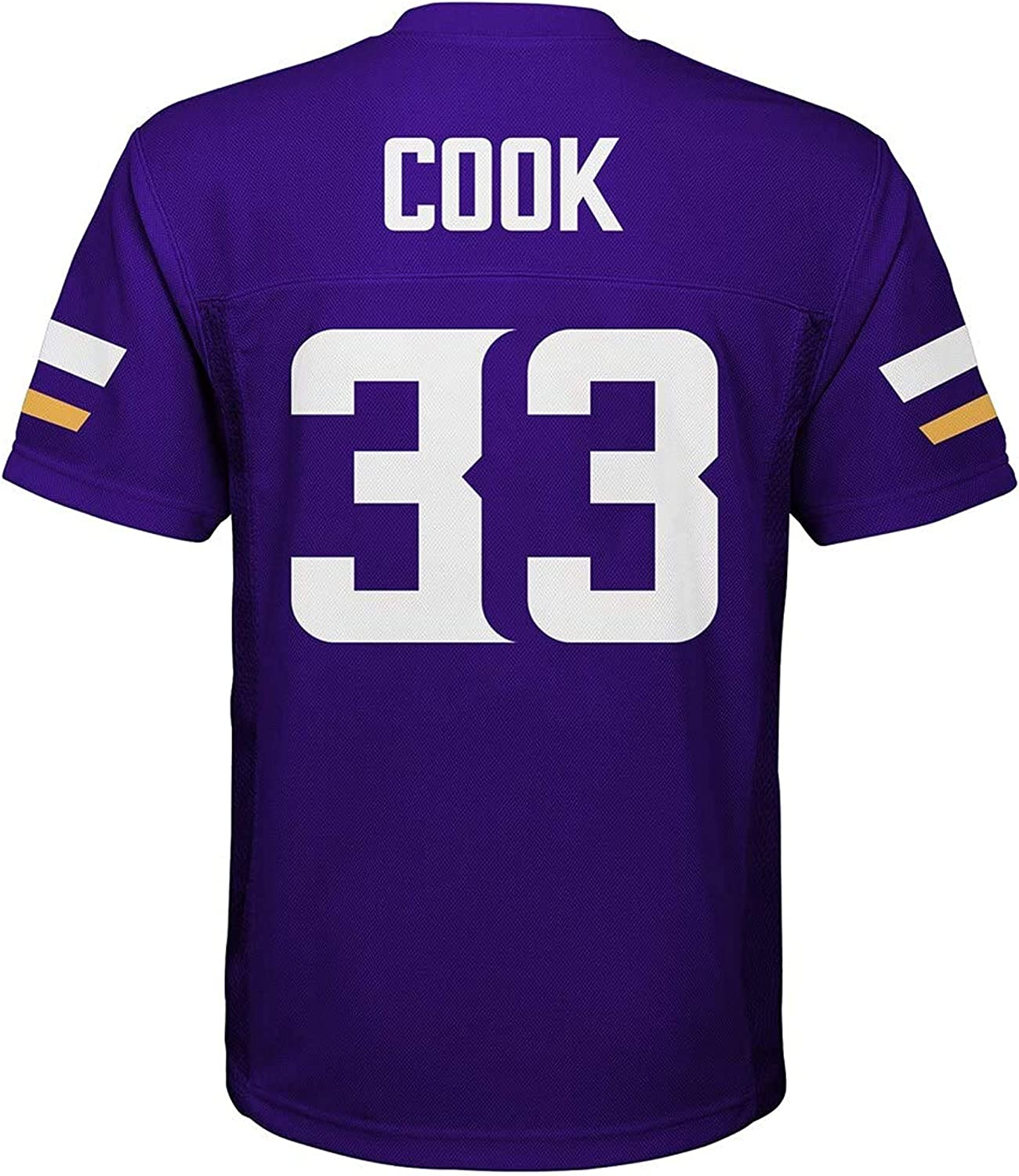 Dalvin Cook Minnesota Vikings #33 Kids 4-7 Purple Home Mid-Tier Player Jersey