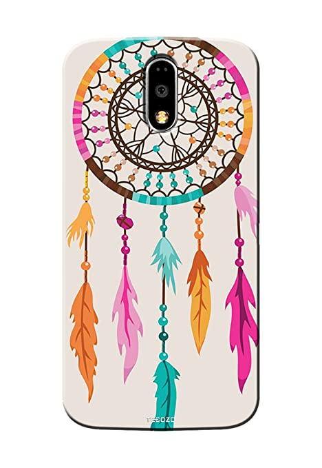 best service 5fbba a166c PICWIK Designer Printed Back Cover/Hard Case for Motorola Moto G4 Plus  (Dream Catcher Design/Quirky)